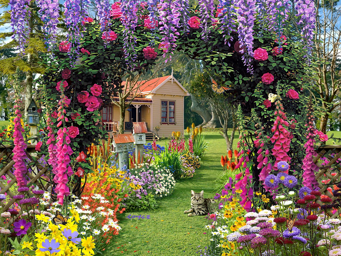 Beautiful Garden Pictures Houses: Pretty Flowers For Summer Garden At Ace Gardener